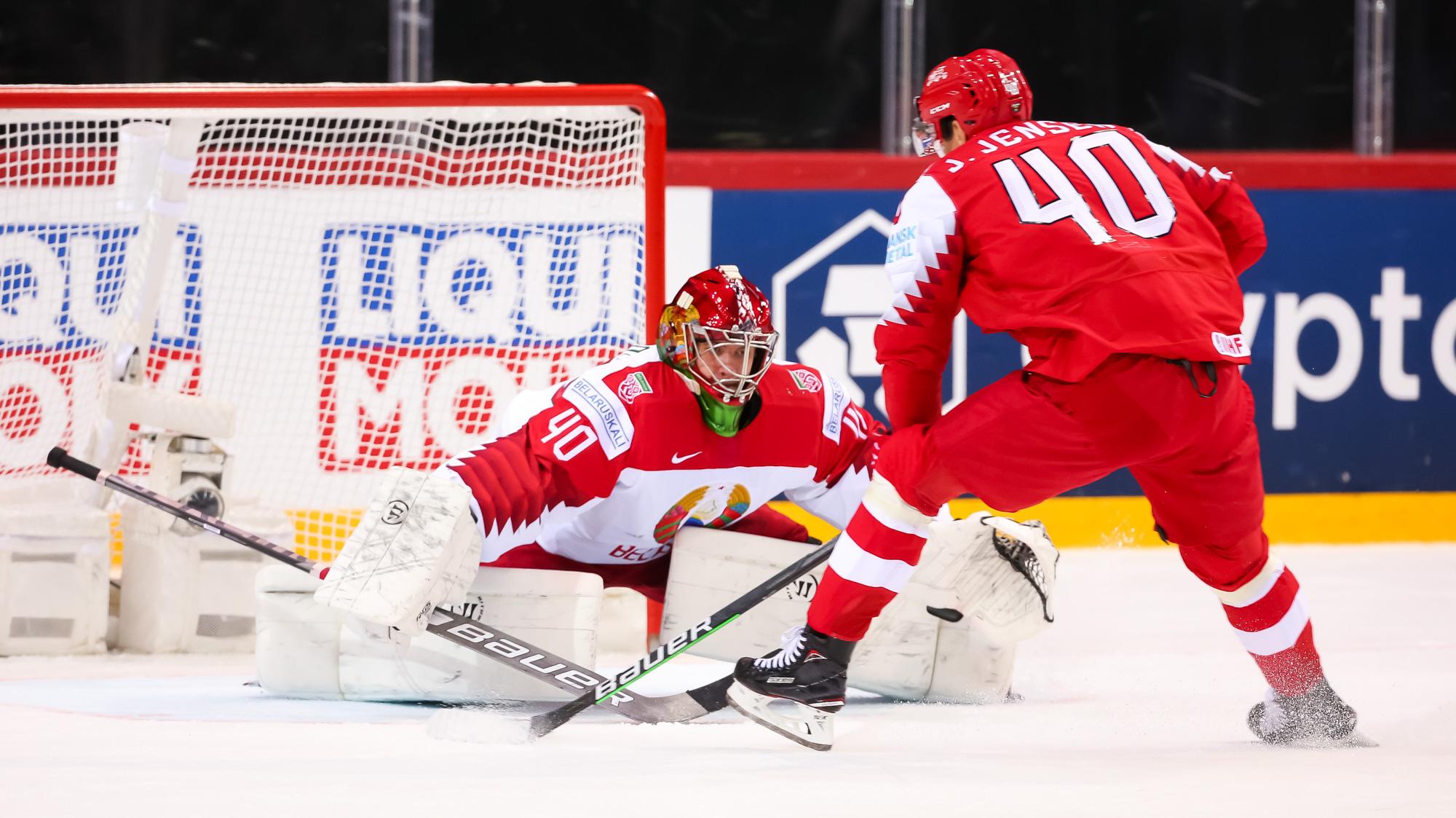 Сборная Дании одержала волевую победу над Белоруссией