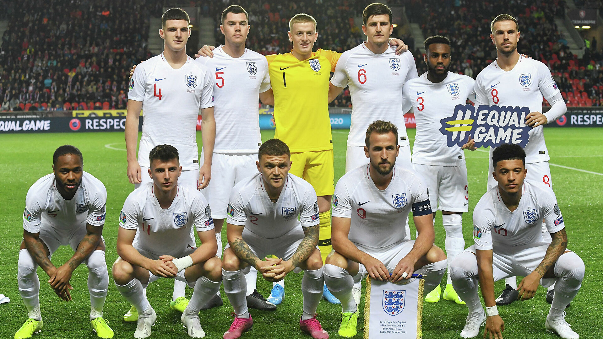 Сборная Англии будет представлена на Евро-2020 самым молодым составом в истории европейских первенств