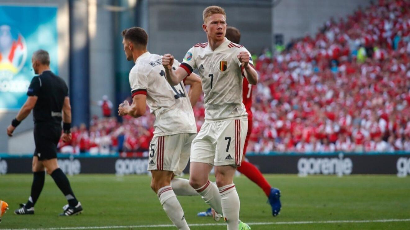 Сборная Бельгии обыграла Данию