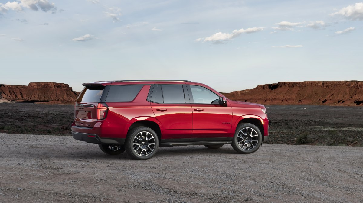 Chevrolet Tahoe (2021) цена и комплектации для России