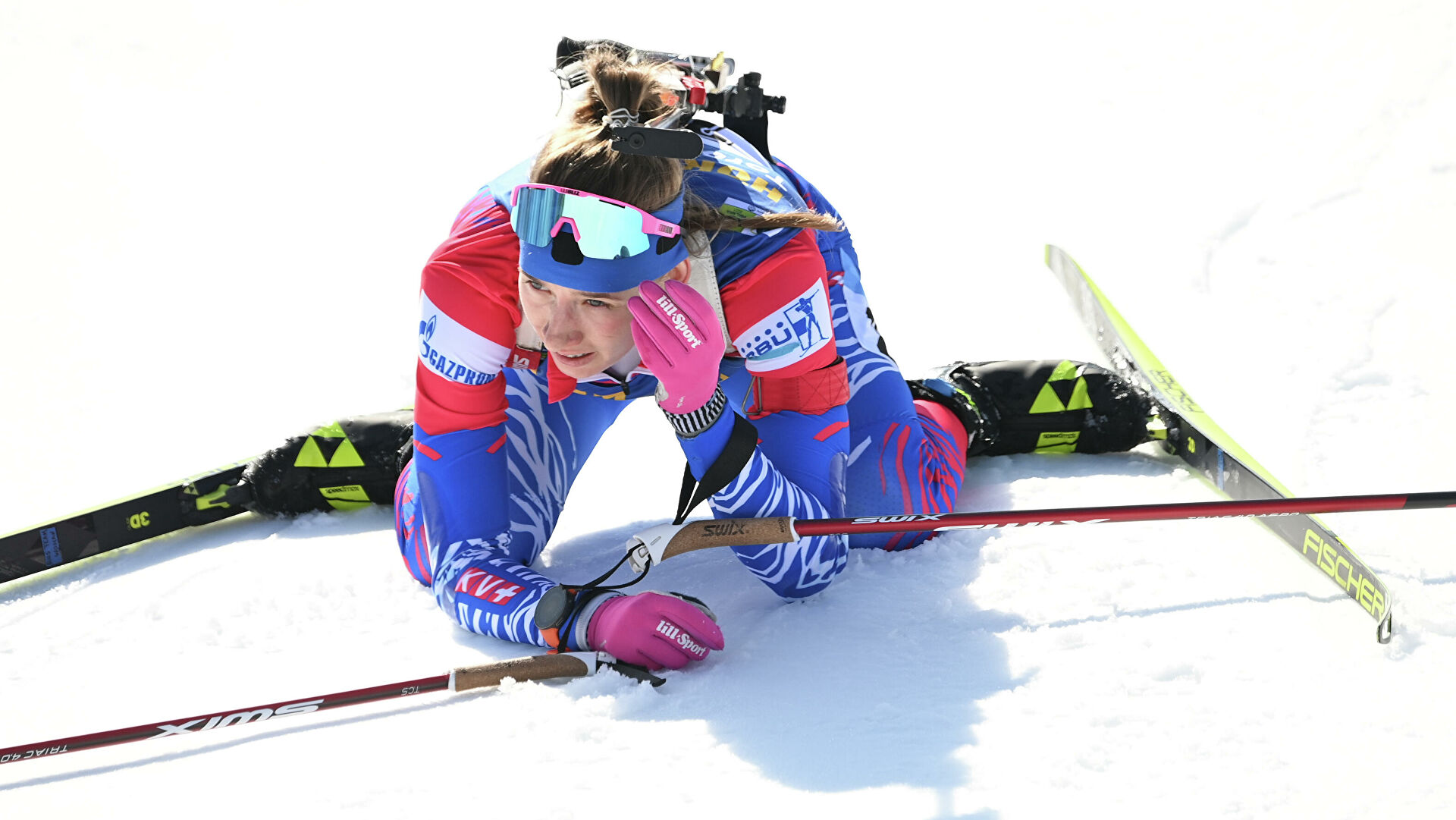 Женская сборная России по биатлону завершила сезон на шестом месте в Кубке наций