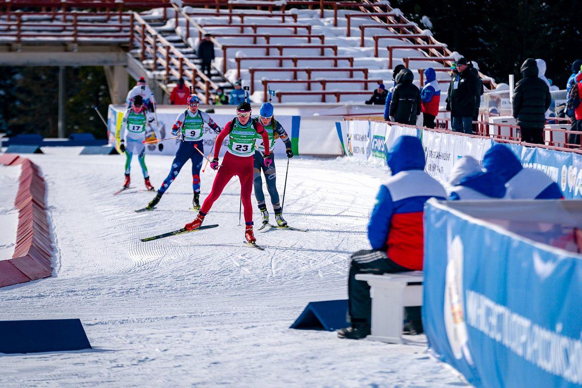 В Ханты-Мансийске стартовал второй этап чемпионата России по биатлону