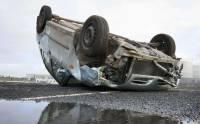 В Башкирии три человека погибли при опрокидывании машины