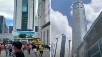 В Китае начал раскачиваться 350-метровый небоскреб
