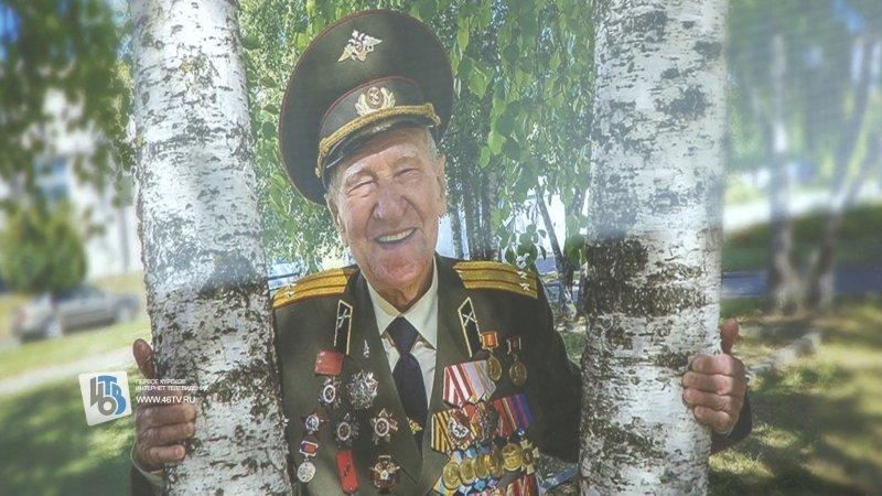 В Курске школе №61 присвоили имя ветерана войны Петра Михина