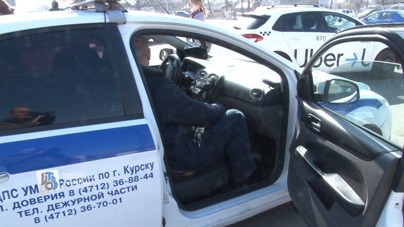 В Курске составили 15 административных материалов на нелегальных таксистов