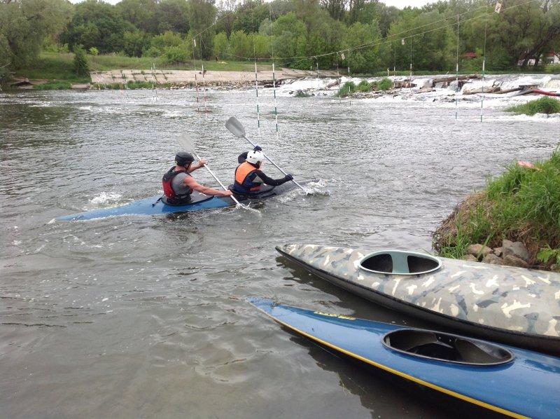 В Курске прошел чемпионат по спортивному туризму на водной дистанции