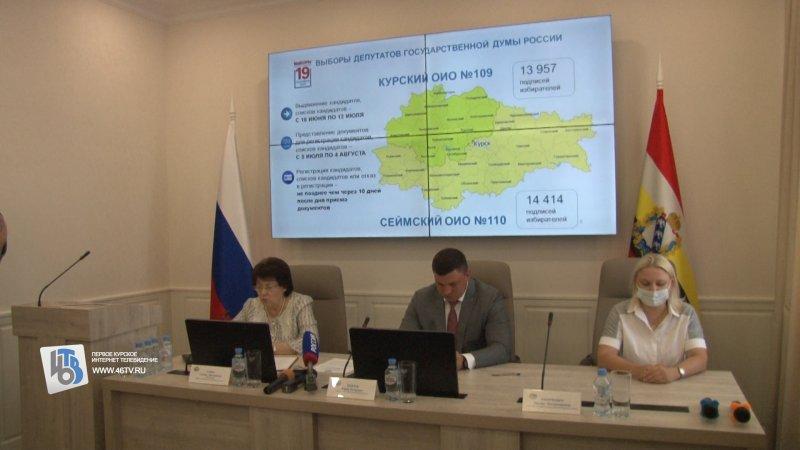 В Курской области в 2021 году пройдет 120 избирательных кампаний