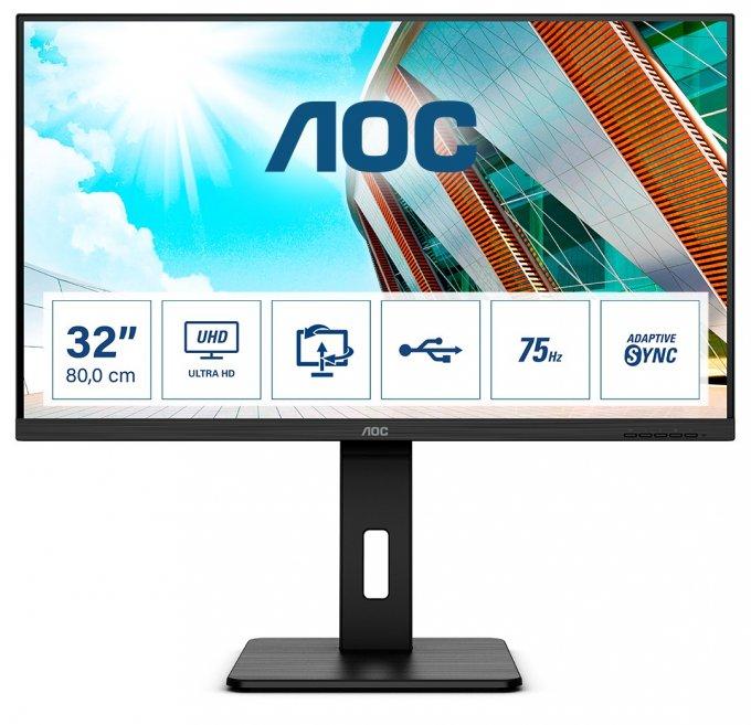 AOC представил сразу 3 новых монитора для игр и для работы (3 фото)
