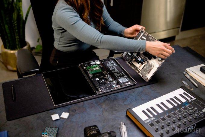 Модернизируемый модульный ноутбук Framework Laptop появится весной 2021 года (3 фото)