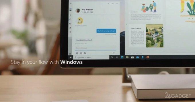 Microsoft внедрит возможность запуска Android-приложений под Windows 10 до конца 2021 года