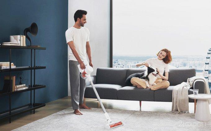 Пылесос Mi Handheld Vacuum Cleaner G10 выходит на российский рынок по цене 22 тысячи рублей (4 фото)
