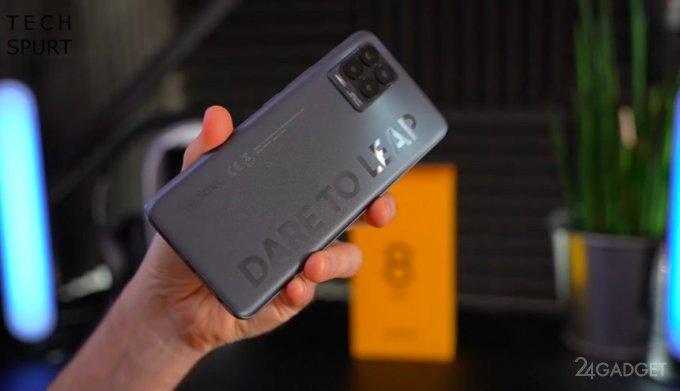 Новейший смартфон Realme 8 Pro распаковали до официальной презентации (6 фото + видео)