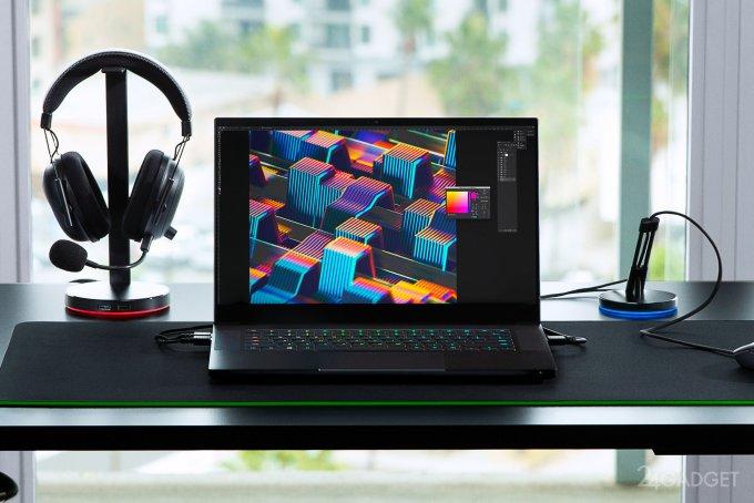 Razer Blade 15 - самый тонкий игровой ноутбук (2 фото)