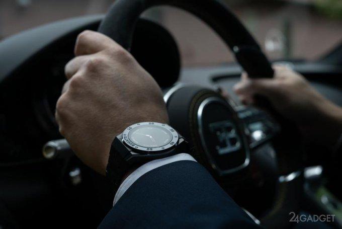 Bugatti выпускает умные часы в стиле собственных автомобилей (4 фото)