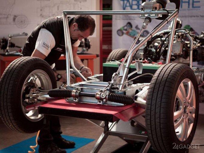 Mahle представляет безмагнитный электродвигатель с КПД 95% (2 фото)