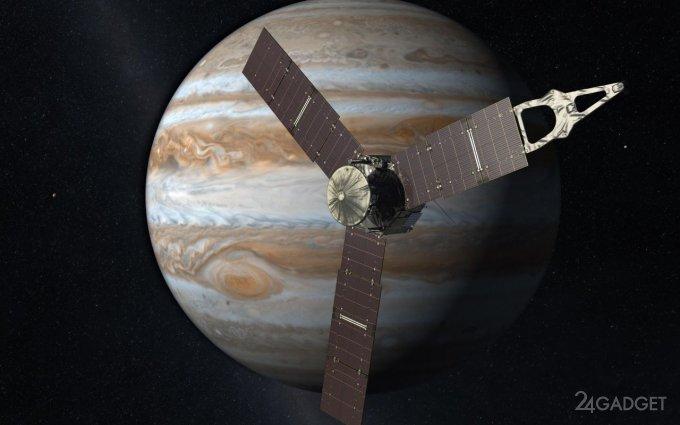 Опубликованы снимки NASA естественного спутника Юпитера Ганимеда (3 фото)