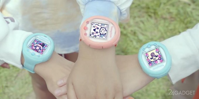 Юбилейный тамагочи выйдет в форм-факторе смарт-часов Tamagotchi Smart (4 фото + видео)