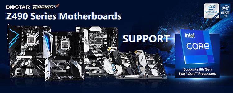 Biostar и ASRock подтвердили поддержку Intel Rocket Lake-S на материнских платах Z490