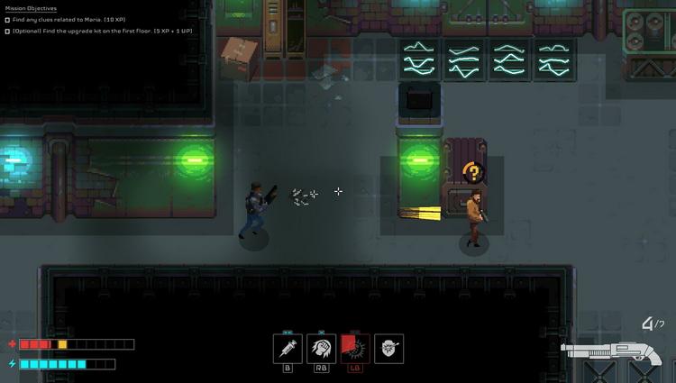 Двухмерный Deus Ex: ролевой экшен Disjunction выйдет 28 января