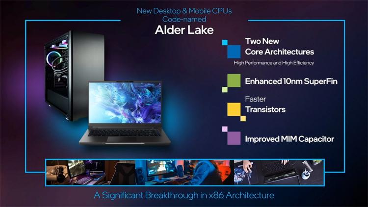Intel показала рабочий образец десктопного процессора Alder Lake