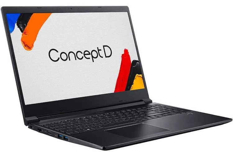Acer обновила тонкие и мощные ноутбуки ConceptD 3 для работы с графикой и видео