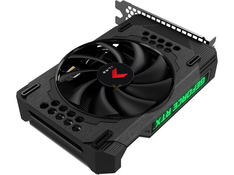 PNY создала короткую видеокарту GeForce RTX 3060 с невероятно длинным названием