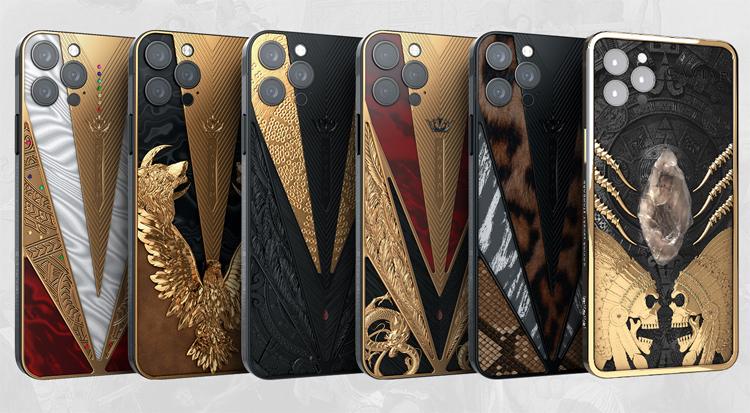 Caviar оценила коллекцию «воинственных» смартфонов iPhone 12 Pro в 10 000 000 рублей