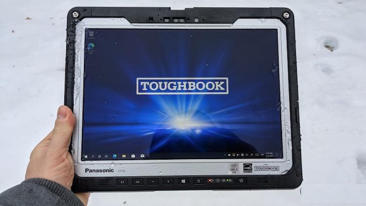 Panasonic представила защищённый Windows-планшет Toughbook 33 на Intel Comet Lake за $5500