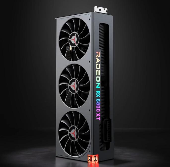 Lenovo готовит дискретные видеокарты AMD Radeon RX 6000 серии Legion