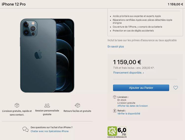 Apple начала указывать рейтинг ремонтопригодности iPhone и MacBook, чтобы продавать их во Франции