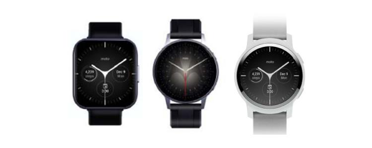 К выпуску готовятся несколько смарт-часов Moto, включая версию в стиле Apple Watch