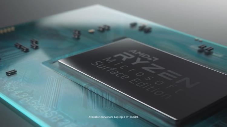 Microsoft Surface Laptop 4 получат процессоры AMD Ryzen прошлого поколения