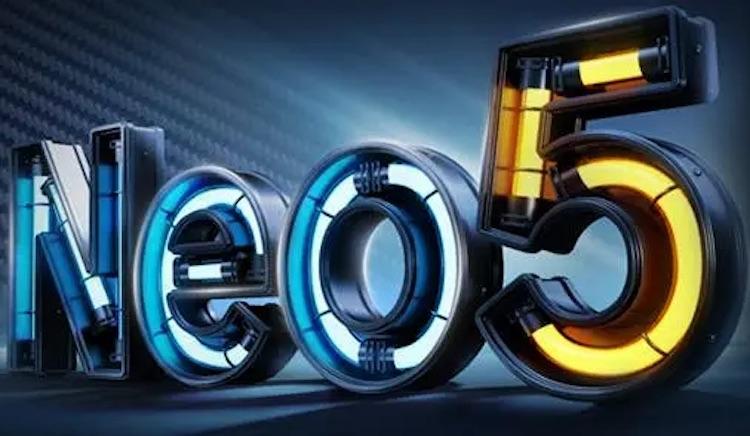 iQOO Neo 5 получит сенсорную панель с огромной частотой опроса