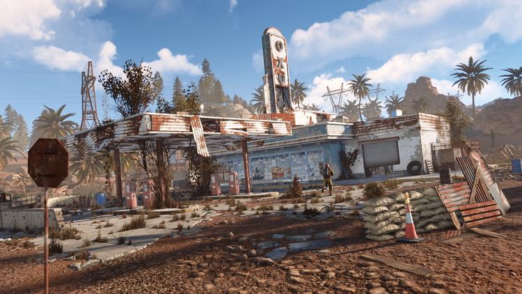 Видео: геймплей Rust на Xbox One X и PlayStation 4 Pro