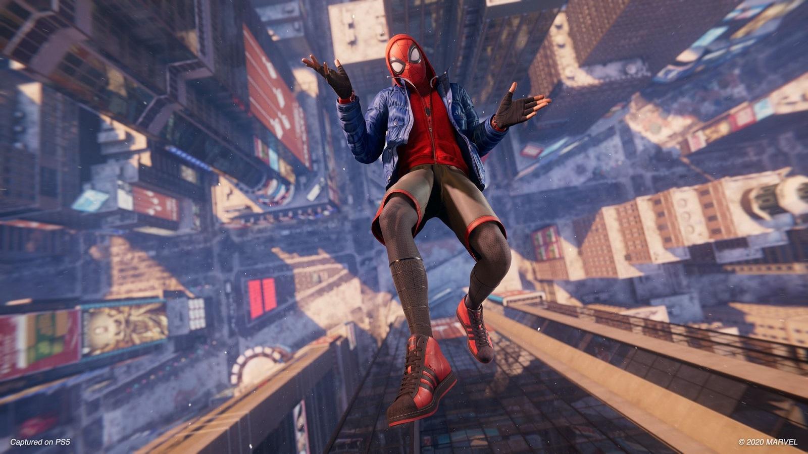 Британские чарты: супергеройский экшен Marvels Spider-Man: Miles Morales всё-таки дотянулся до первого места