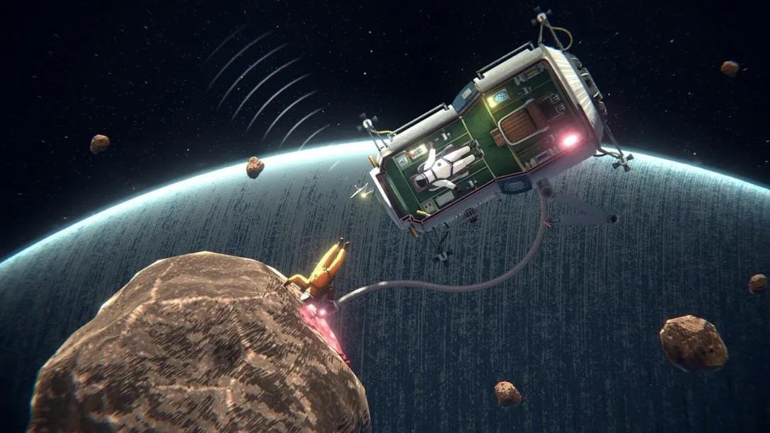 В трейлере космической головоломки Heavenly Bodies показали строительство башни связи и добычу ископаемых