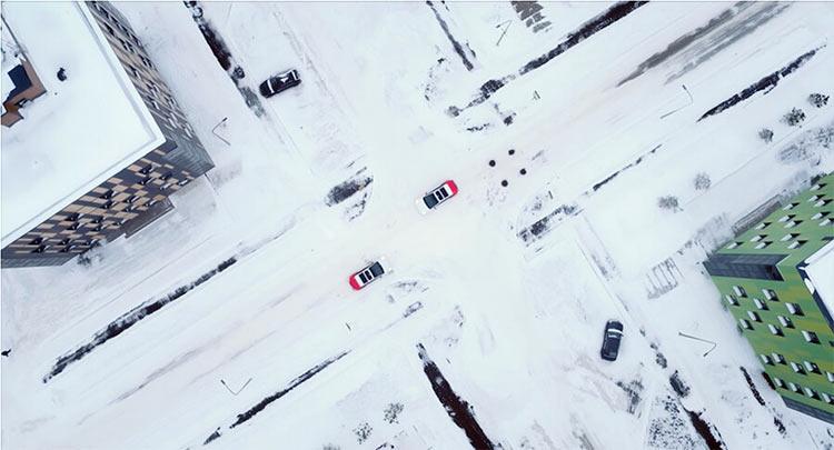 «Яндекс» рассказала, как её робомобили справились с суровыми условиями московской зимы