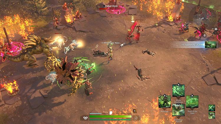 Кинематографический трейлер к открытому бета-тестированию Magic: Legends на ПК