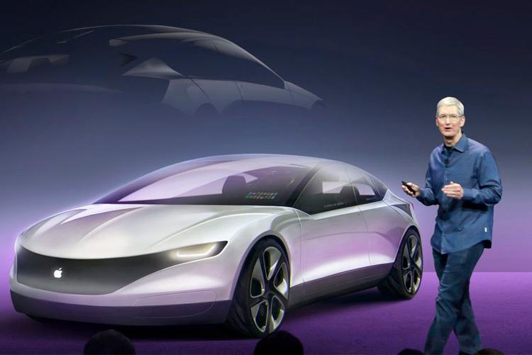 Apple запатентовала «систему ночного видения» для электромобиля