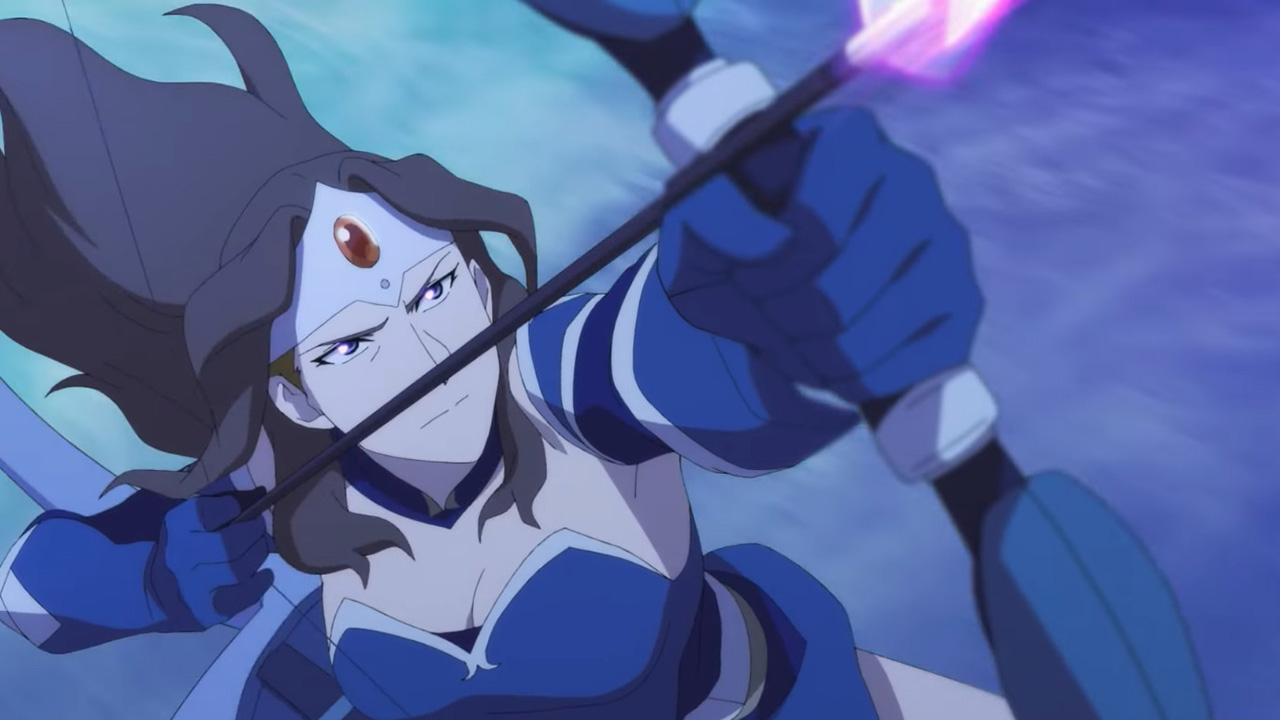 Видео: трейлер с тематической песней Basshunter в честь релиза анимационного сериала «DOTA: Кровь дракона»