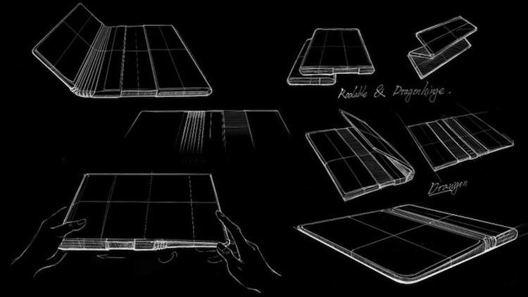 TCL придумала смартфон с гибким экраном, который может и скручиваться, и складываться