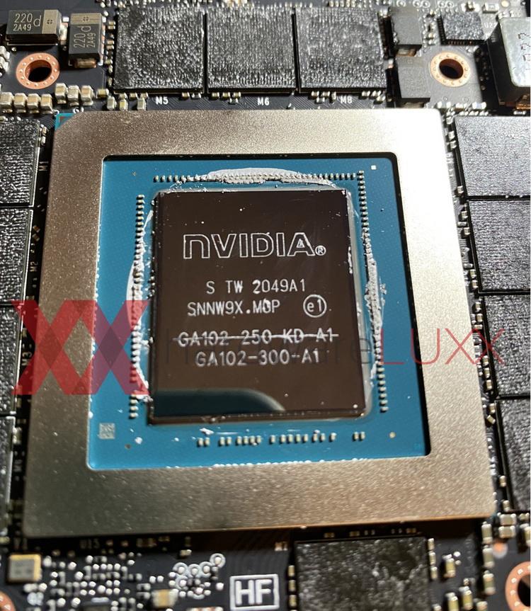 В составе GeForce RTX 3090 используются перемаркированные GPU для GeForce RTX 3080 Ti