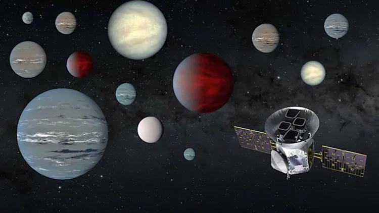 Телескоп TESS обнаружил более 2200 кандидатов в экзопланеты
