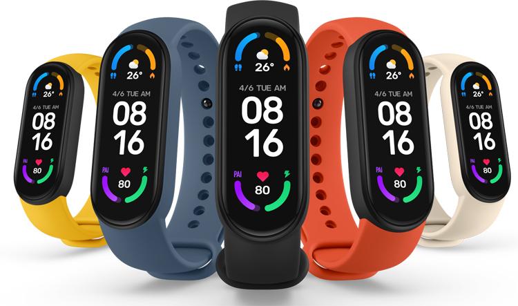 Xiaomi представила фитнес-браслет Mi Band 6 с увеличенным экраном, датчиком кислорода в крови и ценой от $35