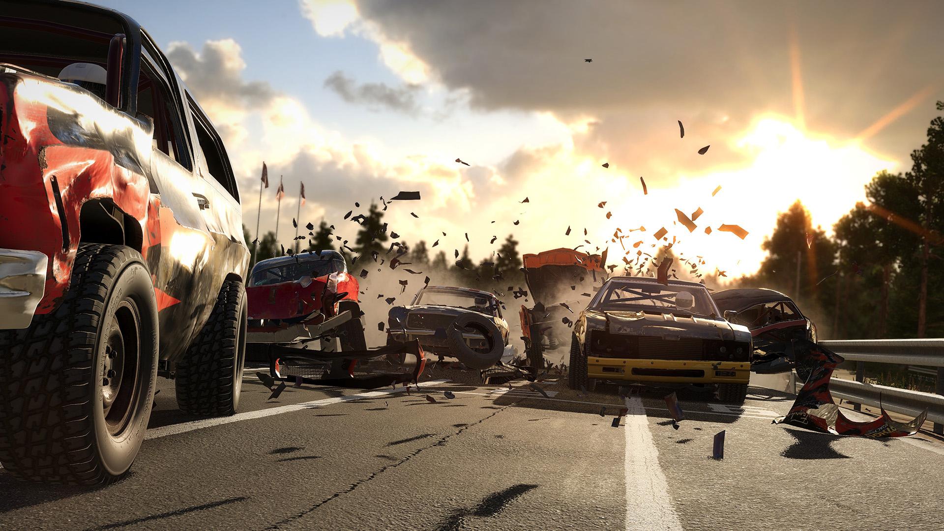 Wreckfest получит полноценную версию для PS5, но обновление с PS4 будет платным