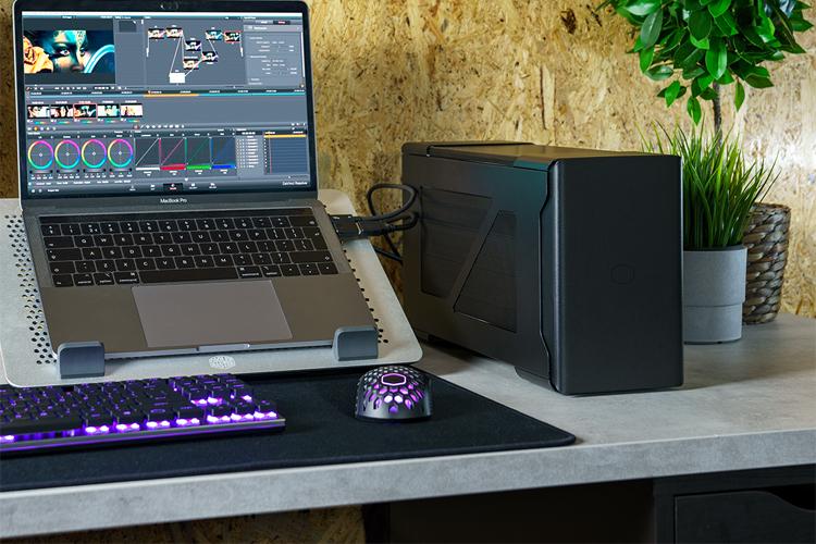 Cooler Master представила кейс MasterCase EG200 для подключения настольной видеокарты к ноутбуку