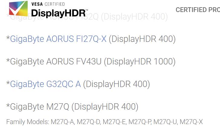 Gigabyte представила 43-дюймовый игровой монитор за $1500 на 4K-панели на квантовых точках с частотой 144 Гц