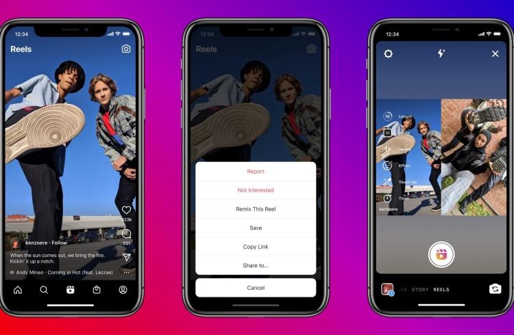 Разработчики Instagram скопировали ещё одну функцию TikTok