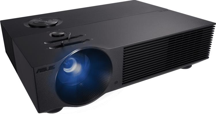 Проектор ASUS H1 способен создать изображение Full HD с диагональю до 200 дюймов